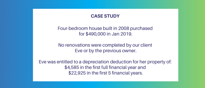 case study for residential investment property