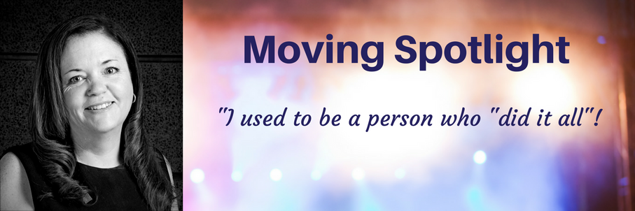 Moving Spotlight - Maria Edwards